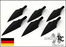 6x Stone Jagdspitze   Pfeilspitze Turnier   Jagd Recurve   Compound Pfeilspitzen