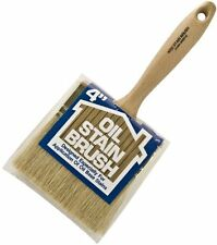 Wooster Brush 4052-4 Oil Stain Brush, 4-Inch