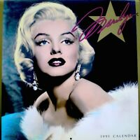 Marilyn Monroe 1991 Pinup Calendar Powolny Promo Photo Publicity NM/MT SEALED