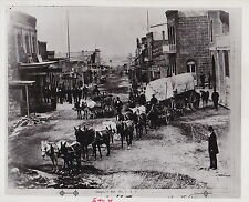 Mule Train in Helena Montana Businesses Signs ICONIC Classic Western 1874 photo