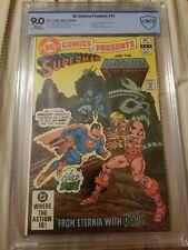 DC Comics Presents 47 First Appearance He-Man Skeletor Battle Cat CBCS CGC 9.0