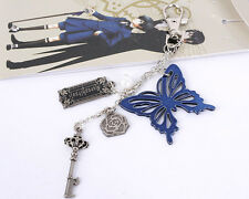 Black butler Kuroshitsuji Ciel Phantomhive Cosplay keychain Pandent  key ring