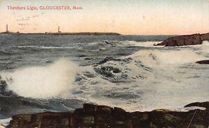 Thatcher's Light Gloucester Massachusetts 1909