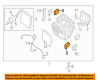 NISSAN OEM Heater-Actuator 277417J100