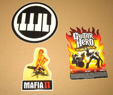 Mafia 2 II Guitar Hero World Tour Rock Band 3 promo Stickers Sticker