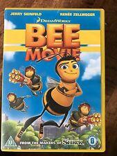 Jerry Seinfeld Renee Zellweger BEE MOVIE ~ 2007 DreamWorks Animated Film UK DVD