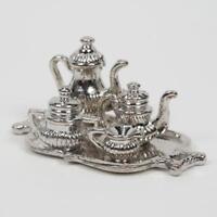 1:12 Keramik Teekanne + Vor Ort-motiv Mit Teebeutel Puppenhaus Miniatur Fas B6S9