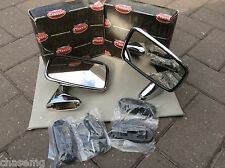 Triumph TR4 TR5 TR6 Gt6 Stainless Steel Door Mirrors genuine tex BS6 - 3