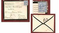 Lettre 1912 Grande-Bretagne pour France: Roi EDOUARD VII n°110, cote 30€