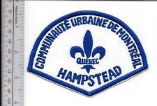 Montreal Police Department Communaute Urbaine Hampstead Station non Active)