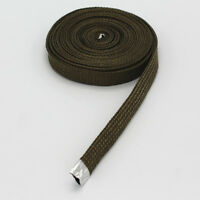 """Heat Resistant Cable / Hose Titanium Protect A Sleeve 1/2"""" ID x 10ft 3m Per 12mm"""