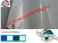 Telone 700 g/m²  Rivestimento PVC Telo Colori e Misure Diverse