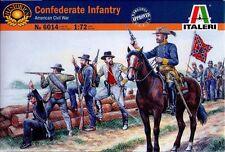 Italeri 6014 Confederate Infantry American Civil War 1 72 Item