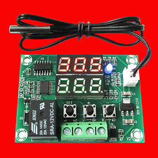 Thermometer Digital Temperature Controller  Dual Relay Alarm Air Regulator 12V