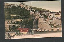 Gibraltar unmailed post card Land Port Gate
