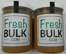 Fresh Ground Peanut Butter 40oz x 2 Jars Bulk Deal - All Natural - Small Batch