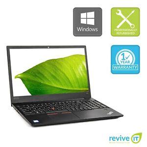 Lenovo ThinkPad E580 Laptop i7-8550U Quad-Core Min 1.80GHz 8GB 256GB SSD W10 Pro