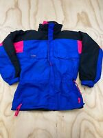 VTG COLUMBIA GIZZMO MEN MEDIUM RADIAL SLEEVE REMOVABLE LINER PARKA SKI JACKET