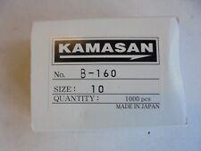 kamasan b160 fly tying and bait hooks x 100 size 10.