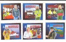 Alderney-Emergency Medical Aid mnh set