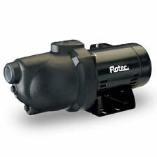 Flotec FP4022 - 12 GPM 3/4 HP Thermoplastic Shallow Well Jet Pump (115V/230V)
