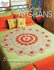 Doily Afghans: 5 colorful afghans made using worsted-weight yarn (Annies Crochet