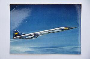 BOAC Concorde artist's impression airline postcard