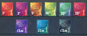 Great Britain 1994 Postage Dues complete to £5 mint unmounted (2021/03/21#12)