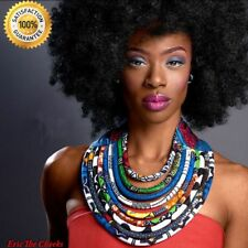 Women Necklaces Rope Chain Statement 2017 African Accessories Bohemia Style