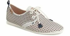 NEW Pikolinos White Calabria Laser-Cut Leather Shoes, Women Size 40 (9.5-1) $150