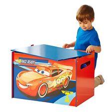 DISNEY CARS QUATRE ROUES Stockage Boite à jouet enfants Meuble éclairage McQueen