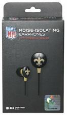 iHip NOISE-ISOLATING EAR PHONES HI-FI PREM SOUND OFFICAL NFL NEW ORLEANS SAINTS