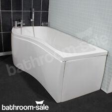 Liberty Bathstore Shower Bath 1500 Left Hand - White | RRP: £299