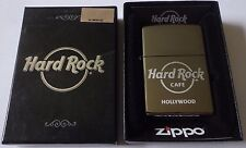 Hard Rock Cafe Zippo Hollywood Sealed with Original Box New