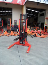 Semi Electric foklift Stacker, Narrow ,1000kg/3m, Best Value, Our Factory!!