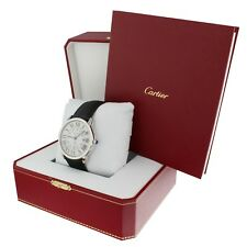 Cartier Ronde Solo Steel Automatic 42 mm Watch WSRN0022 Complete 2018