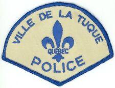 Ville de la Tuque Police, Quebec, Canada HTF Vintage Uniform/Shoulder Patch