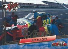 1993 Wheels Rookie Thunder Platinum Parallel Jeff Gordon #93 Pit Magic