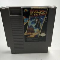 Nintendo NES video game BACK TO THE FUTURE Tested