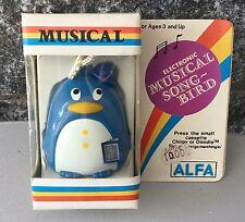 RARE #vintage Electronic Musical SONG BIRD DOODLE ALFA#NIB