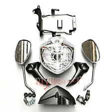 For Yamaha FZ6N 2007-2009 2008 FZ6S Fazer Headlight Set Head Light Assembly New