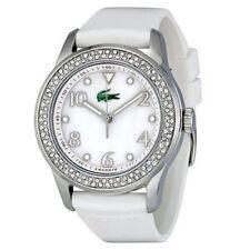 Lacoste  Advantage White Rubber Strap Ladies Watch 2000647