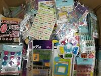 HUGE Lot of 75 K&Company,Sticko,Jolee's,Stickers and Scrapbooking embellishments