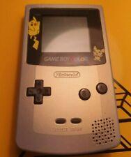 Nintendo Game Boy Color Pokemon Gold & Silver Edition Console Rare - TESTED