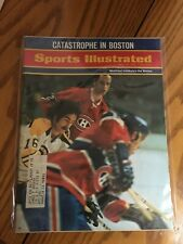 FM3-57 Sports Illustrated Magazine april 26 1971 CANADIENS BRUINS HOCKEY