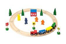 Wooden Train Set 27pc Starter Set - Compatible with Brio & Thomas - FREE POSTAGE