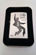 Zippo Lighter Licensed Elvis Presley Jailhouse Rock 2003 New in tin with sleeve
