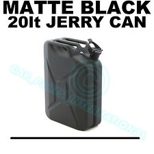 METAL 20lt Jerry Can - MATTE BLACK HAMMERED FINISH Motorsport Rally Race Car 4x4