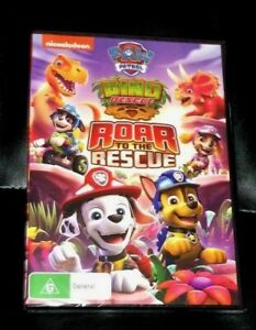 Paw Patrol : Dino Rescue : Roar To The Rescue (2021 : 1 Disc DVD) Brand New R4