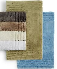 """NEW Hotel Collection Microcotton 24"""" X 60"""" Rectangle Soft Bath Rug Ivory $95"""